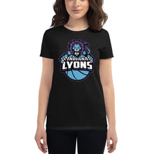 Load image into Gallery viewer, Indiana Lyons Primary Logo Ladies T-Shirt