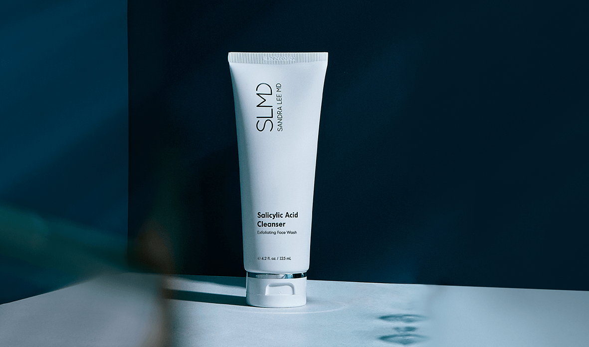 Salicylic Acid Cleanser unclogs pores by SLMD Skincare