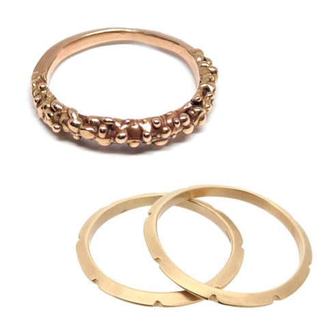 The Smithery Custom Wedding Bands Recycled Gold