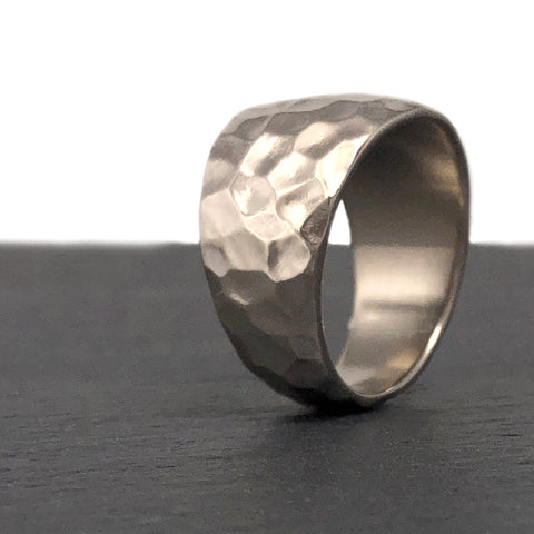Custom Wedding Band Recycled Gold The Smithery