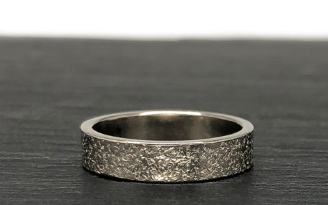 The Smithery Recycled Gold Handmade Wedding Band