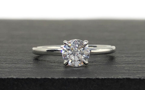 Custom Engagement Ring Recycled Gold The Smithery