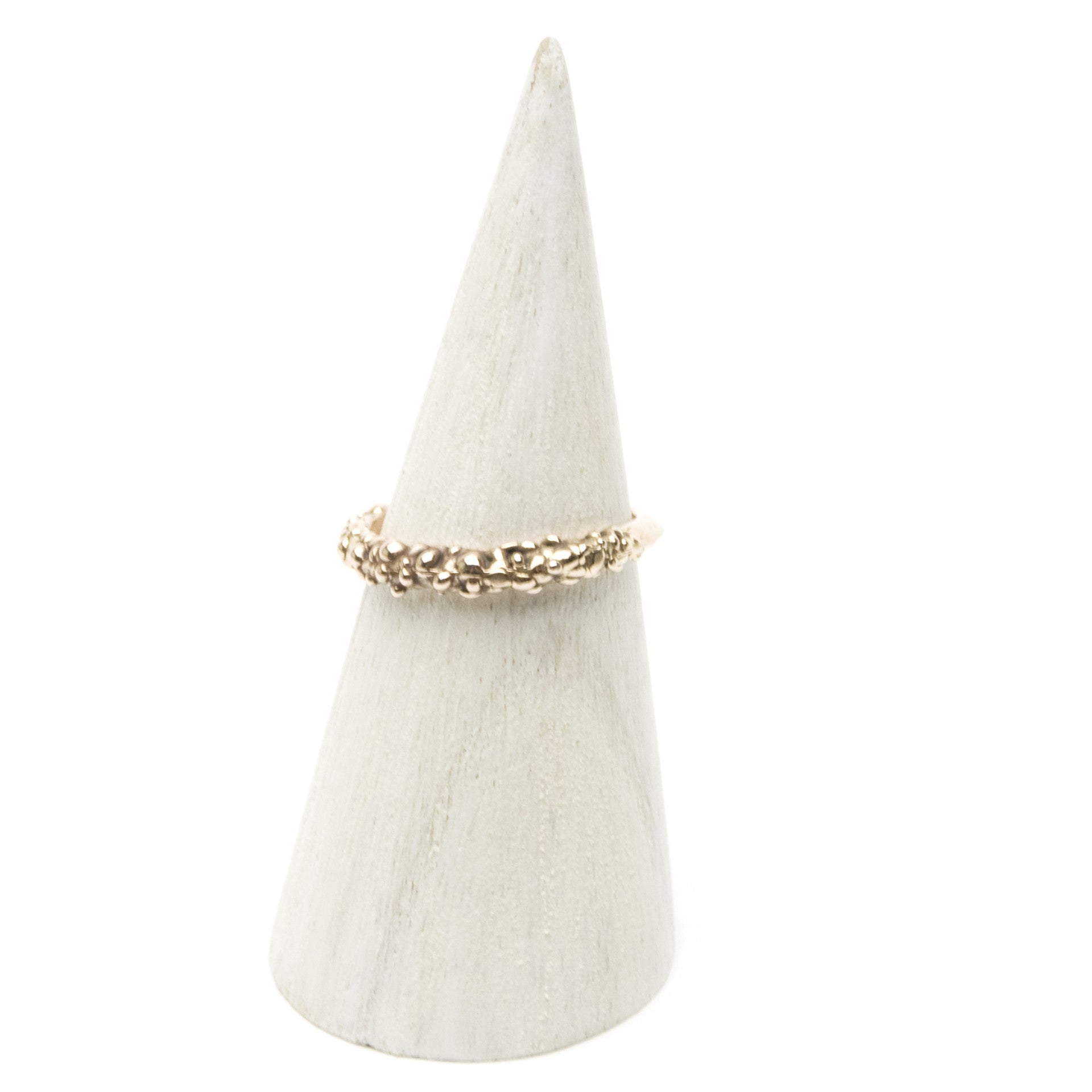 Bubbles 14K Rose Gold Ring - Size 7