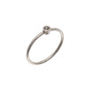 Willow Ring - Grey Diamond & 14K Palladium White Gold