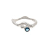 Tidal Ring London Blue Topaz - Size 9.5