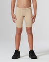 Core Boys Compression Shorts - Beige/Beige