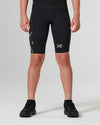 Core Boys Compression Shorts - Black/Black