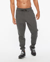 COMMUTE Trackpant - Charcoal Marle/Black