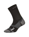 Vectr Ultralight Crew Socks - Black/Titanium