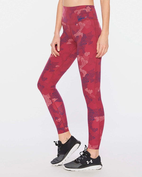 Print Fitness Hi-Rise Compression Tights