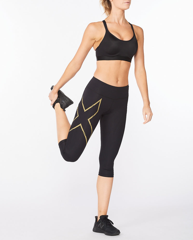 Light Speed Mid-Rise Compression 3/4 Tights