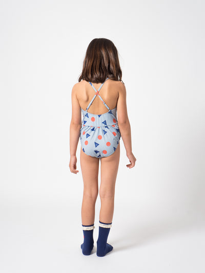 BOBO CHOSES POLLEN SWIMSUIT / BLUE