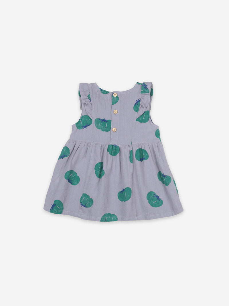 BOBO CHOSES TOMATOES AOP RUFFLE DRESS / BABY