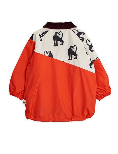 MINI RODINI PANTHER LIGHTWEIGHT COAT / RED