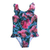 ROMEY LOVES LULU SWIMSUIT / PINK BLUE FLOWERS