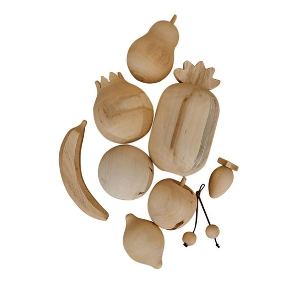 RADUGA GREZ WOODEN FRUITS / NATURAL