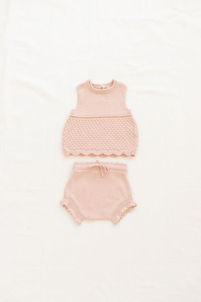 FIN & VINCE KNIT CAMISOLE / PEACH