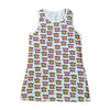 GARDNER AND THE GANG TANK DRESS / KATE AND ALLEN LIGHT GREY