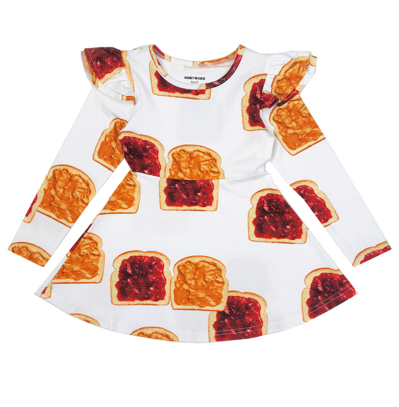 ROMEY LOVES LULU DRESS / PB&J