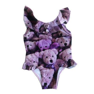 ROMEY LOVES LULU SWIMSUIT / PURPLE BEARS