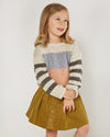 RYLEE + CRU STRIPE ASPEN SWEATER / COLORBLOCK