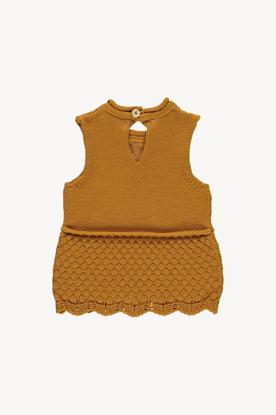 FIN & VINCE KNIT CAMISOLE / WHEAT