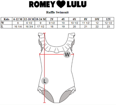 ROMEY LOVES LULU SWIMSUIT / UNICORN PEGASUS