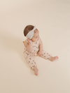 RYLEE + CRU ICE CREAM MILLS JUMPSUIT / SOFT PEACH
