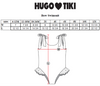 HUGO LOVES TIKI BOW SWIMSUIT / BLUE BANANA
