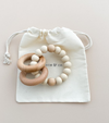 SEDONA TEETHING RING + RATTLE