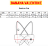 BANANA VALENTINE BANDEAU TOP / CANDIES