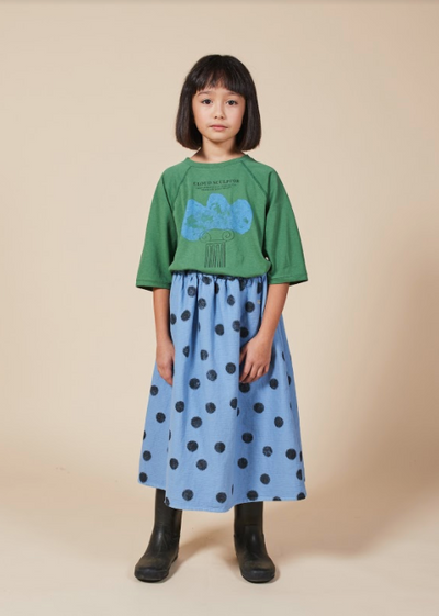 BOBO CHOSES SPRAY DOTS WOVEN SKIRT