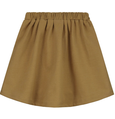 GRAY LABEL FRONT POCKET SKIRT / PEANUT