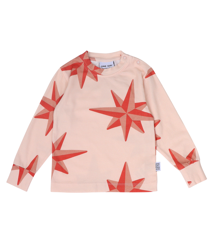 ONE DAY PARADE LONGSLEEVE SHIRT / RED COMPASS