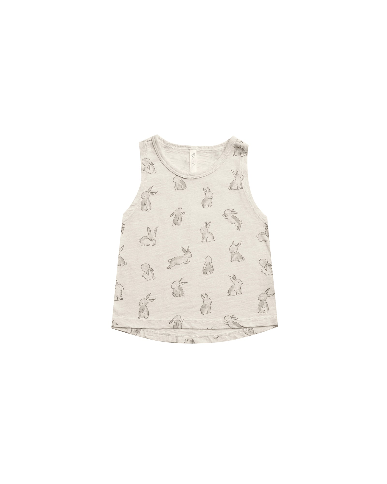 RYLEE + CRU BUNNIES TANK / NATURAL