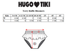HUGO LOVES TIKI TERRY RUFFLE BLOOMERS / RAINBOW STRIPE
