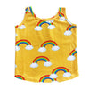 ROMEY LOVES LULU TANK TOP / YELLOW RAINBOWS