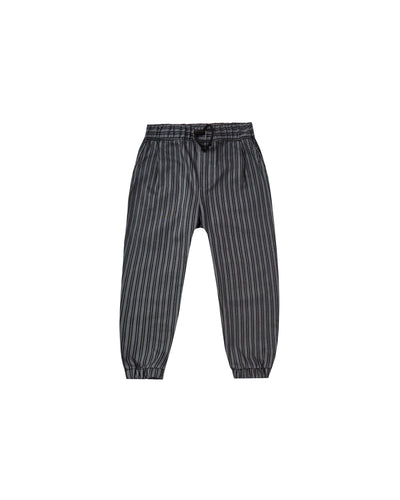 RYLEE + CRU BEAU PANT / STRIPED WASHED INDIGO