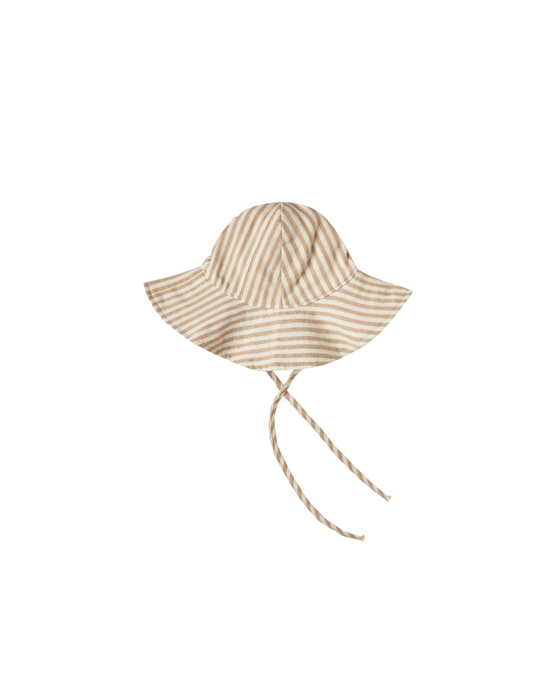 RYLEE + CRU FLOPPY HAT / ALMOND STRIPE