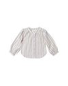 RYLEE + CRU MEADOW BLOUSE / TRUFFLE STRIPE