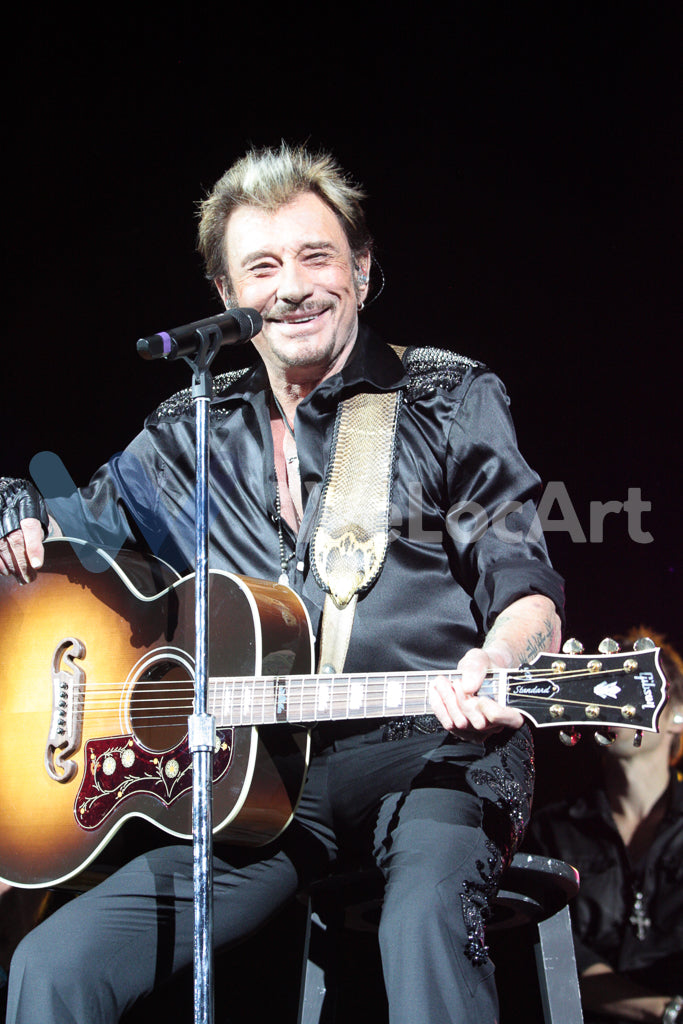 Johnny Hallyday sur scène à Los Angeles en 2012 (n°24)