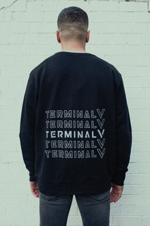 Drop Style Repeater Print - Sweatshirt