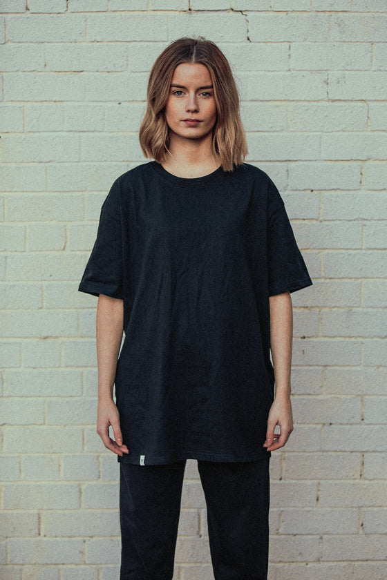 Oversize Repeater Print - T Shirt