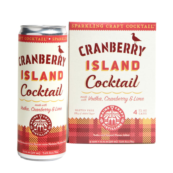 Cranberry Island Cocktail - 4 Pack Cans
