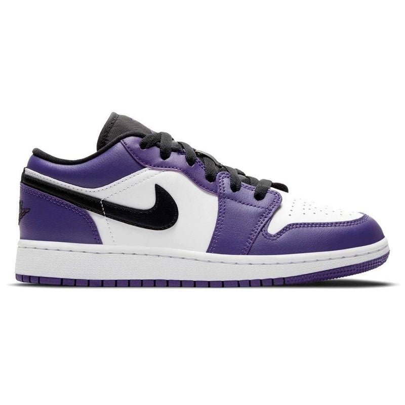 Air Jordan 1 Low 'Court Purple White' GS
