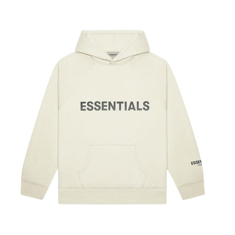 FEAR OF GOD - ESSENTIALS PULLOVER HOODIE 'BUTTERCREAM'