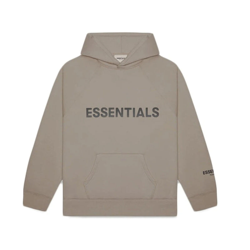 FOG X Essentials Pullover Hoodie Taupe Brown