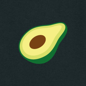 Avocado Men's T-shirt | Black