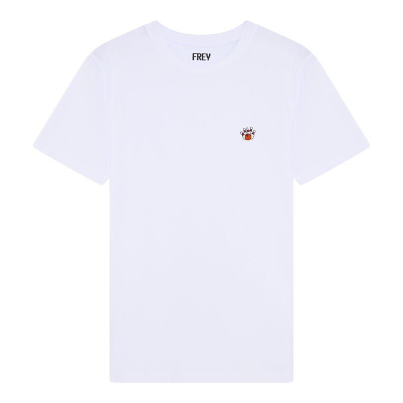 Bowling Men's T-shirt | White