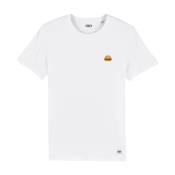 Burger Men's T-shirt | White